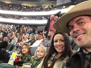 Nathan attended George Strait - Strait to Vegas on Feb 2nd 2019 via VetTix