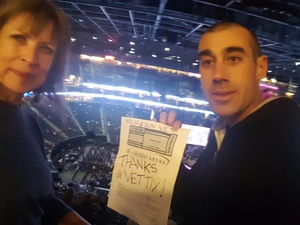 Lin attended George Strait - Strait to Vegas on Feb 2nd 2019 via VetTix
