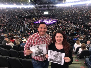 Alexander attended George Strait - Strait to Vegas on Feb 2nd 2019 via VetTix