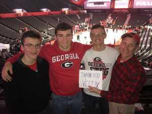 Frederick attended University of Georgia vs. Missouri - NCAA Men's Basketball on Mar 6th 2019 via VetTix