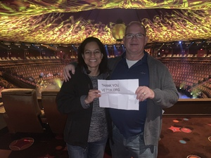 Mark Steffen attended Le Reve the Dream on Jan 27th 2019 via VetTix