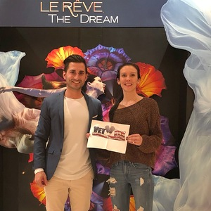 Andrew attended Le Reve the Dream on Jan 27th 2019 via VetTix