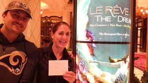 Rebecca attended Le Reve the Dream on Jan 27th 2019 via VetTix