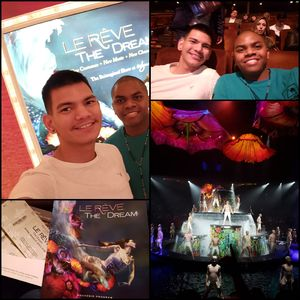 Wayne attended Le Reve the Dream on Jan 27th 2019 via VetTix