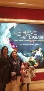 Nikki attended Le Reve the Dream on Jan 27th 2019 via VetTix