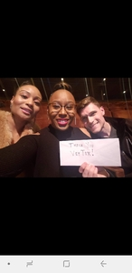 Richard attended Le Reve the Dream on Jan 27th 2019 via VetTix