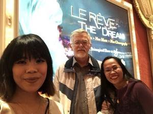 Kenneth attended Le Reve the Dream on Jan 27th 2019 via VetTix