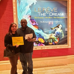 Kimberly attended Le Reve the Dream on Jan 27th 2019 via VetTix