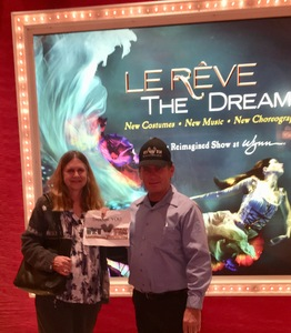 James attended Le Reve the Dream on Jan 27th 2019 via VetTix