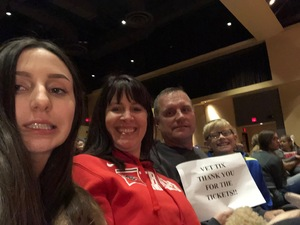 Steven attended Vail Laughs Clean Comedy Show - Award Winning Magician Elias Caress on Feb 9th 2019 via VetTix