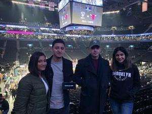 Geovanny attended Brooklyn Nets vs. Denver Nuggets - NBA on Feb 6th 2019 via VetTix