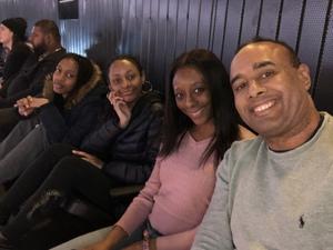 Atiba attended Brooklyn Nets vs. Denver Nuggets - NBA on Feb 6th 2019 via VetTix