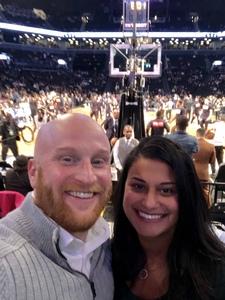 Joshua attended Brooklyn Nets vs. Denver Nuggets - NBA on Feb 6th 2019 via VetTix
