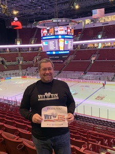 Alexander attended Ohio State Buckeyes Mens Hockey vs. University of Minnesota Golden Gophers Mens Hockey - College on Feb 15th 2019 via VetTix