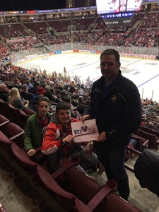 Jeremy attended Ohio State Buckeyes Mens Hockey vs. University of Minnesota Golden Gophers Mens Hockey - College on Feb 15th 2019 via VetTix