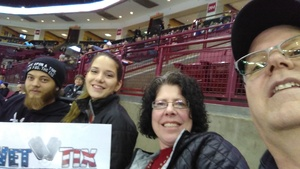 Lewis attended Ohio State Buckeyes Mens Hockey vs. University of Minnesota Golden Gophers Mens Hockey - College on Feb 15th 2019 via VetTix