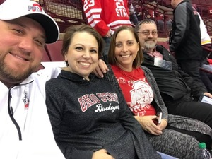 Erin attended Ohio State Buckeyes Mens Hockey vs. University of Minnesota Golden Gophers Mens Hockey - College on Feb 15th 2019 via VetTix