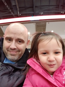 Thomas attended Ohio State Buckeyes Mens Hockey vs. University of Minnesota Golden Gophers Mens Hockey - College on Feb 15th 2019 via VetTix