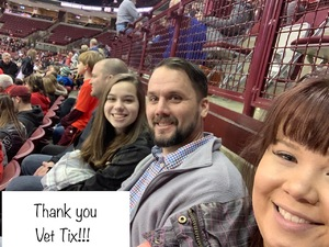 David attended Ohio State Buckeyes Mens Hockey vs. University of Minnesota Golden Gophers Mens Hockey - College on Feb 15th 2019 via VetTix