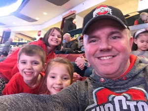 Rick and kids attended Ohio State Buckeyes Mens Hockey vs. University of Minnesota Golden Gophers Mens Hockey - College on Feb 15th 2019 via VetTix