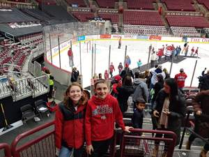 Rebecca attended Ohio State Buckeyes Mens Hockey vs. University of Minnesota Golden Gophers Mens Hockey - College on Feb 15th 2019 via VetTix