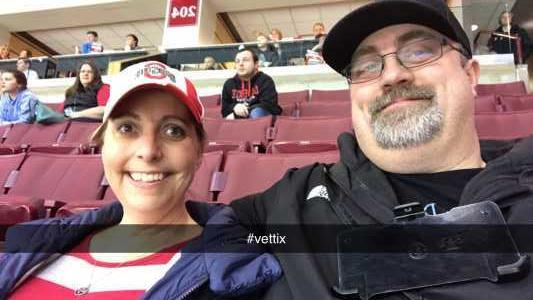Erin attended Ohio State Buckeyes vs. Michigan State University - NCAA Hockey on Mar 1st 2019 via VetTix