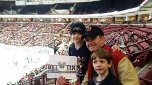 Patrick attended Ohio State Buckeyes vs. Michigan State University - NCAA Hockey on Mar 1st 2019 via VetTix