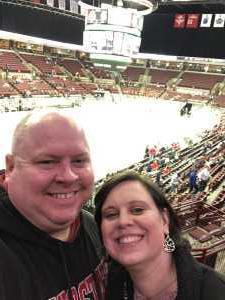 Kyle attended Ohio State Buckeyes vs. Michigan State University - NCAA Hockey on Mar 1st 2019 via VetTix