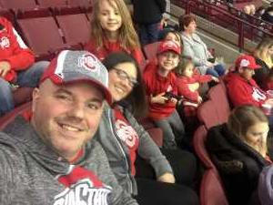Rick and family attended Ohio State Buckeyes vs. Michigan State University - NCAA Hockey on Mar 1st 2019 via VetTix