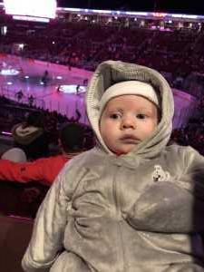 Ashley attended Ohio State Buckeyes vs. Michigan State University - NCAA Hockey on Mar 1st 2019 via VetTix