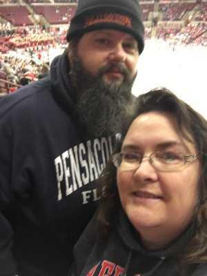 LOIS attended Ohio State Buckeyes vs. Michigan State University - NCAA Hockey on Mar 1st 2019 via VetTix