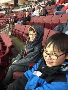 Brandon attended Ohio State Buckeyes vs. Michigan State University - NCAA Hockey on Mar 1st 2019 via VetTix