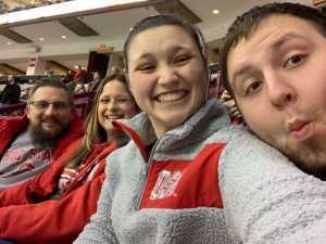 Dawn attended Ohio State Buckeyes vs. Michigan State University - NCAA Hockey on Mar 1st 2019 via VetTix
