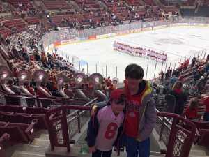 Max attended Ohio State Buckeyes vs. Michigan State University - NCAA Hockey on Mar 1st 2019 via VetTix