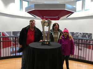 Warren (Bud) attended Ohio State Buckeyes vs. Michigan State University - NCAA Hockey on Mar 1st 2019 via VetTix
