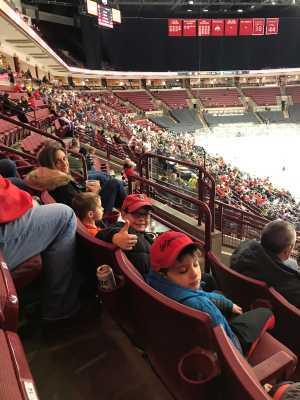 Anthony attended Ohio State Buckeyes vs. Michigan State University - NCAA Hockey on Mar 1st 2019 via VetTix