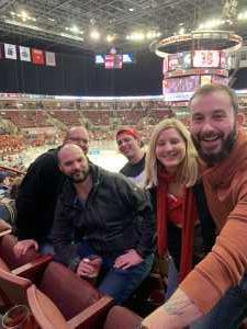 Ian attended Ohio State Buckeyes vs. Michigan State University - NCAA Hockey on Mar 1st 2019 via VetTix