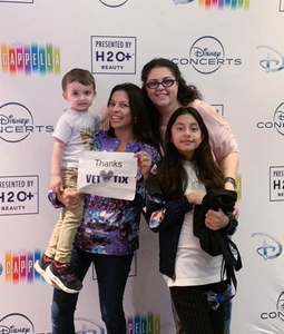 kurt attended Disney's Dcappella - Other on Feb 5th 2019 via VetTix