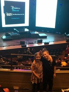Ryan attended Disney's Dcappella - Other on Feb 5th 2019 via VetTix