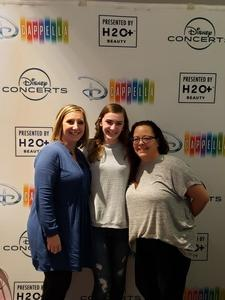 Annette attended Disney's Dcappella - Other on Feb 5th 2019 via VetTix