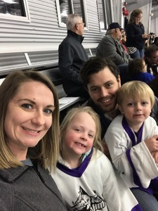 Travis attended Lone Star Brahmas vs Topeka Pilots - NAHL (02/15) on Feb 15th 2019 via VetTix