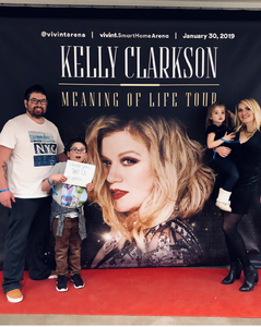 Click To Read More Feedback from Kelly Clarkson: Meaning of Life Tour - Standing Room Only