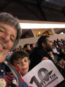 Bruce attended Oklahoma City Blue vs. Austin Spurs - NBA G - League Basketball on Feb 8th 2019 via VetTix