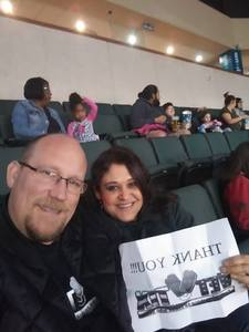 Kevin attended Oklahoma City Blue vs. Austin Spurs - NBA G - League Basketball on Feb 8th 2019 via VetTix
