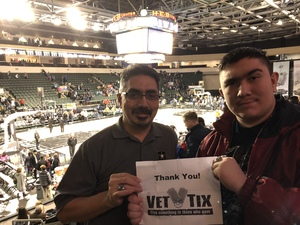 Robert attended Oklahoma City Blue vs. Austin Spurs - NBA G - League Basketball on Feb 8th 2019 via VetTix