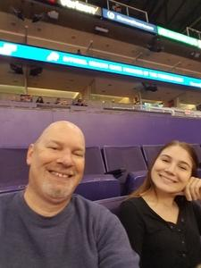 Trenton attended Phoenix Suns vs. Atlanta Hawks - NBA on Feb 2nd 2019 via VetTix