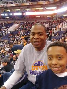 shawn attended Phoenix Suns vs. Atlanta Hawks - NBA on Feb 2nd 2019 via VetTix