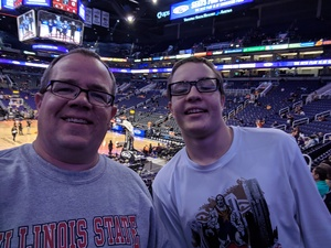 Chris attended Phoenix Suns vs. Atlanta Hawks - NBA on Feb 2nd 2019 via VetTix