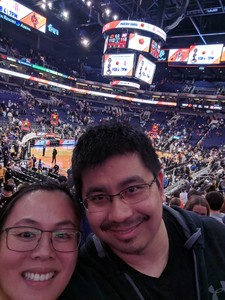 Au attended Phoenix Suns vs. Atlanta Hawks - NBA on Feb 2nd 2019 via VetTix