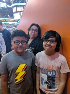 Venessa attended Phoenix Suns vs. Atlanta Hawks - NBA on Feb 2nd 2019 via VetTix